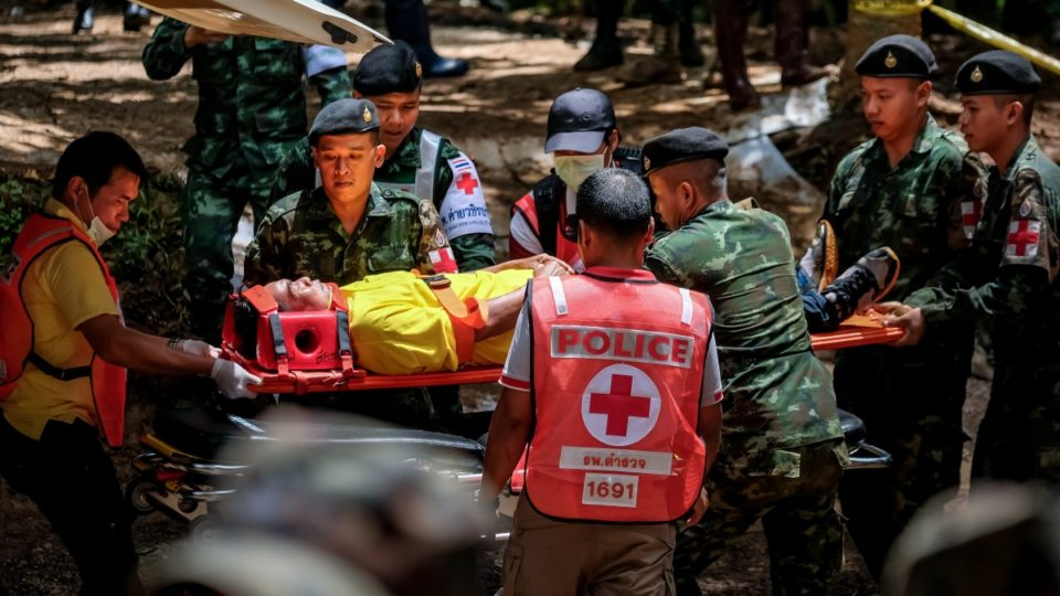 Boys rescued from Thai cave were sedated with ketamine