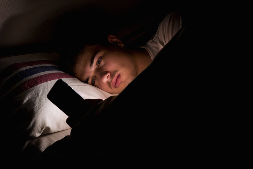 Screen time -- even before bed -- has little impact on teen well-being
