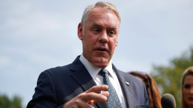 Report: Grand Jury Hearing Evidence That Ryan Zinke Lied to Federal Investigators
