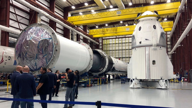 SpaceX's Crew Dragon Is Greenlit for March 2 Unmanned Mission to the ISS