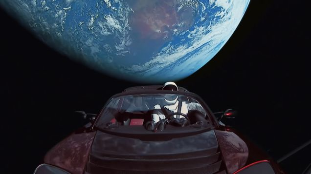 Elon Musk's Space Car Has Racked Up Way More Miles Than Any Car in History