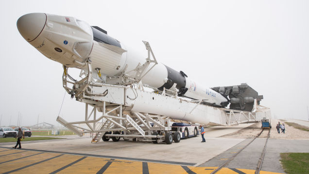 SpaceX's Crew Dragon Capsule Successfully Docks With ISS, Without Use of Robotic Arm