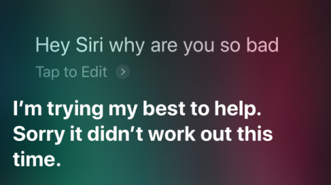 Yes, Apple. Siri Is Extremely Terrible