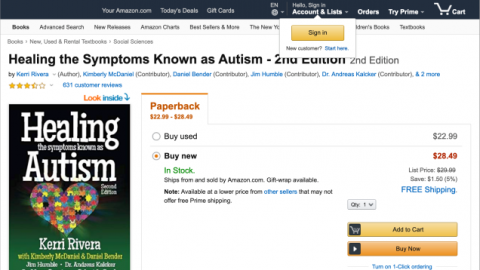 Amazon Pulls Books Peddling Toxic 'Autism Cures'