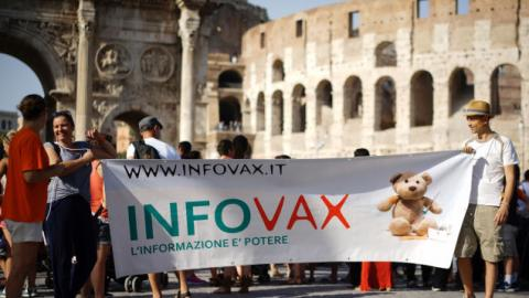Italy Begins to Enforce 'No Vaccine, No School' Policy After Deadline Expires