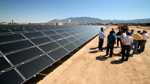 New Mexico Passes Landmark Clean Energy Bill, But Some Tribal Groups Feel Left Out