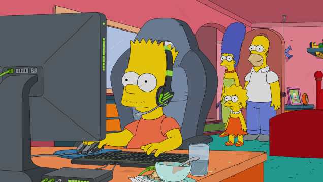 The Simpsons Is Going To Have An Esports Episode