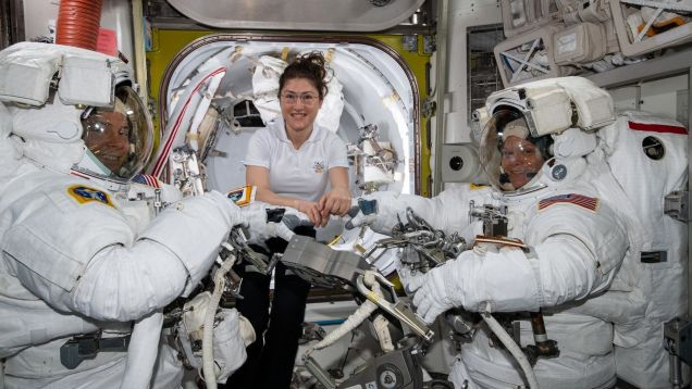 NASA: All-Women Space Walk Is 'Inevitable,' but Sorry, Not the Right Spacesuits This Time
