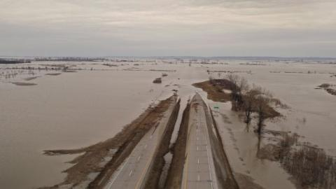 How Historic Flooding in the Midwest Could Fuel the Gulf of Mexico 'Dead Zone'