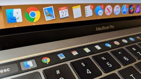 How to Display Your Mac's Dock in Its Touch Bar