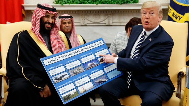 Reports: Trump Admin Approved Secret Deal to Sell U.S. Nuclear Tech and Assistance to Saudi Arabia