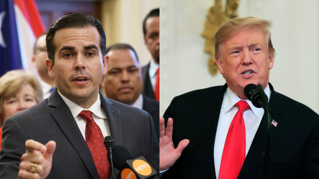 Puerto Rico's Governor Officially Sick of Trump's Shit