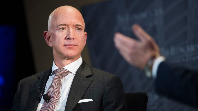 Investigator Jeff Bezos Hired to Look Into Who Got His Dick Pics Says Saudis Broke Into Bezos's Phone