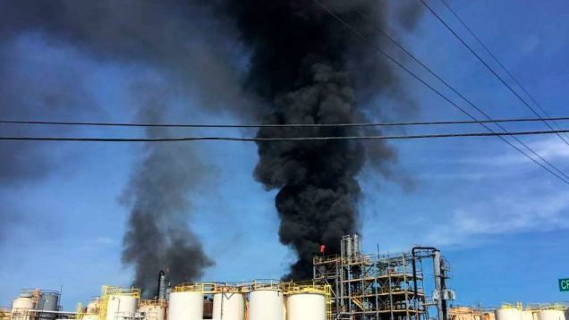 Second Houston Chemical Plant Fire Spews Thousands of Pounds of Toxic Pollutants Into the Air