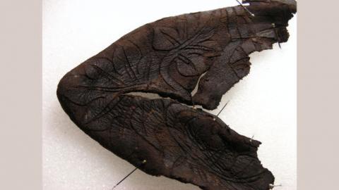 Rare 14th-Century Baby Bootie Uncovered in Switzerland