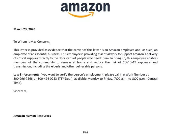 20200330.Amazon-is-giving-workers-a-letter-to-prove-they-are-doing-an-essential-job-01.PNG