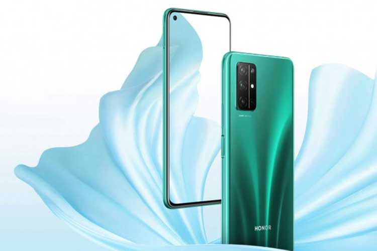 Honor 30S goes official with Kirin 820 5G SoC, four cameras