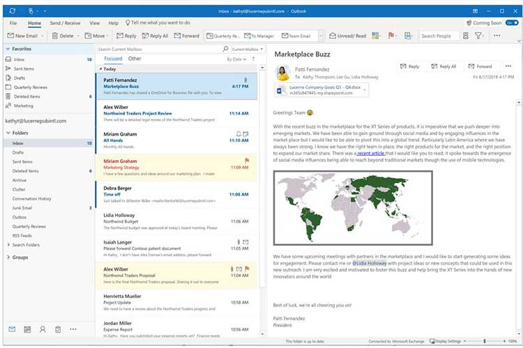 Microsoft Outlook will soon allow you to send high resolution photos in email