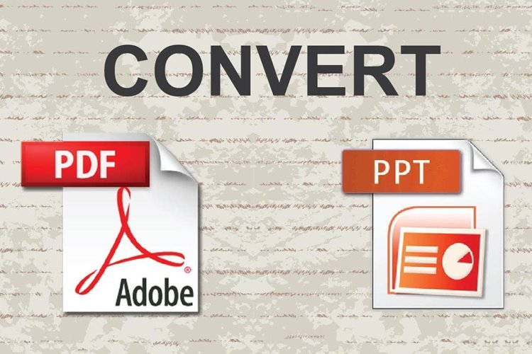 How to Convert a PDF to PowerPoint Presentation
