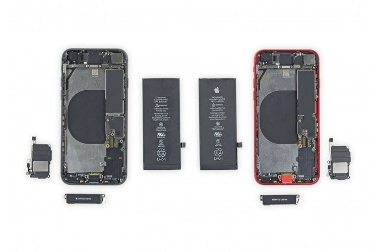 iFixit details which parts you can swap between the iPhone 8 and iPhone SE