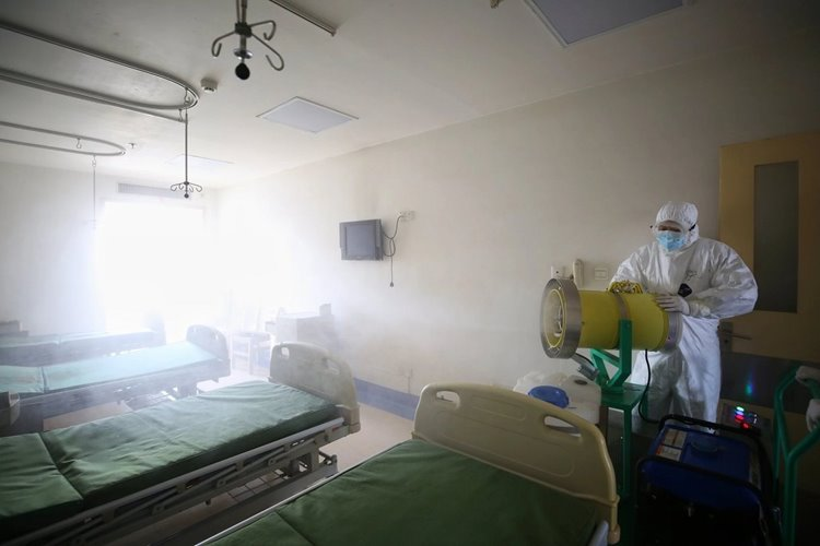 Scientists Find Airborne Coronavirus Floating in Wuhan Hospital