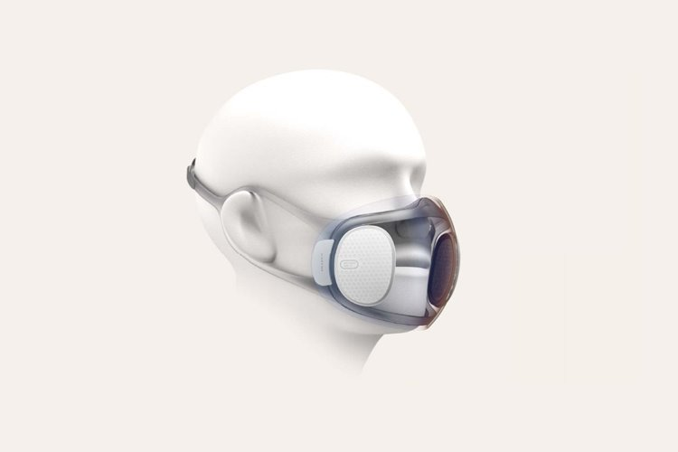 Amazfit maker is developing a self-cleaning, transparent coronavirus mask
