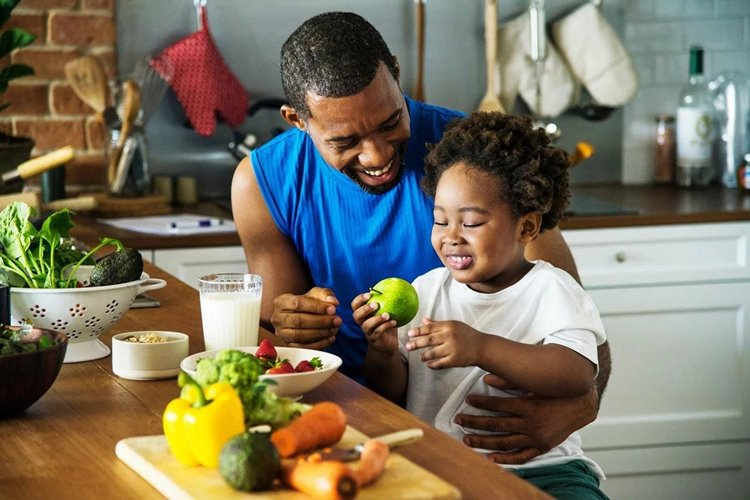 Healthy eating behaviors in childhood may reduce the risk of adult obesity and heart disease
