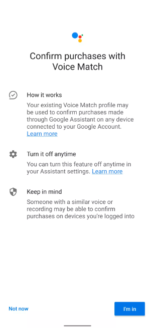 20200528.Google-tests-voice-matching-to-secure-Google-Assistant-purchases-01.PNG