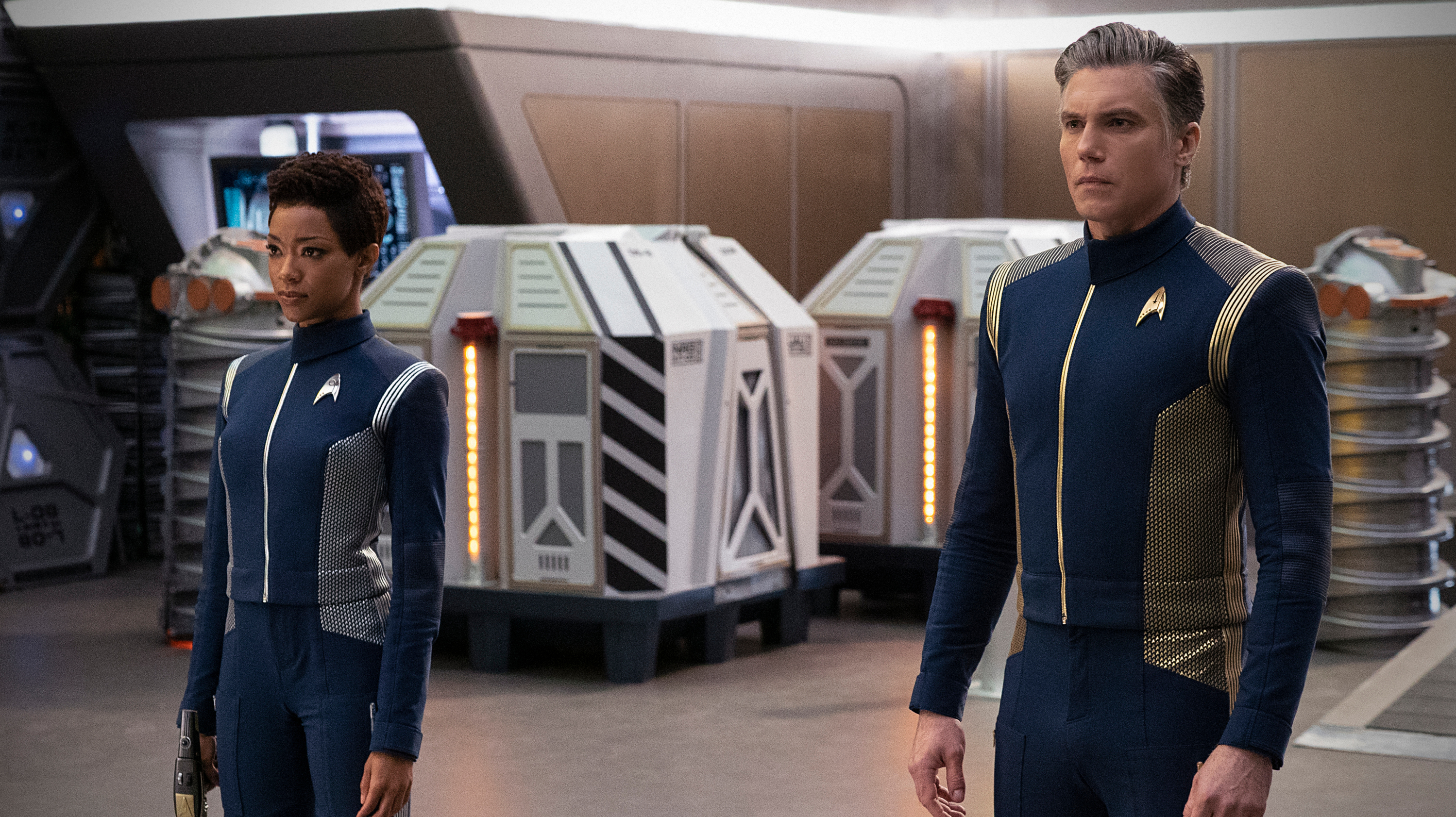 Star Trek: Discovery's Stars Reveal More About Last Night's Big Surprise