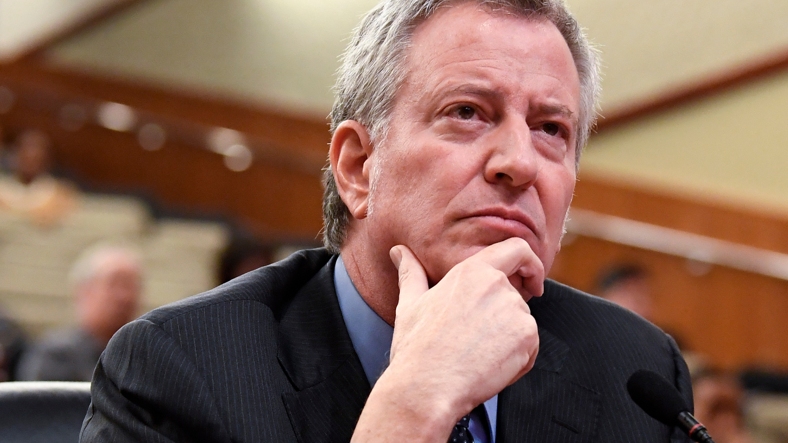 Bill de Blasio Does Not Appear to Be Taking the Amazon HQ2 Breakup Well