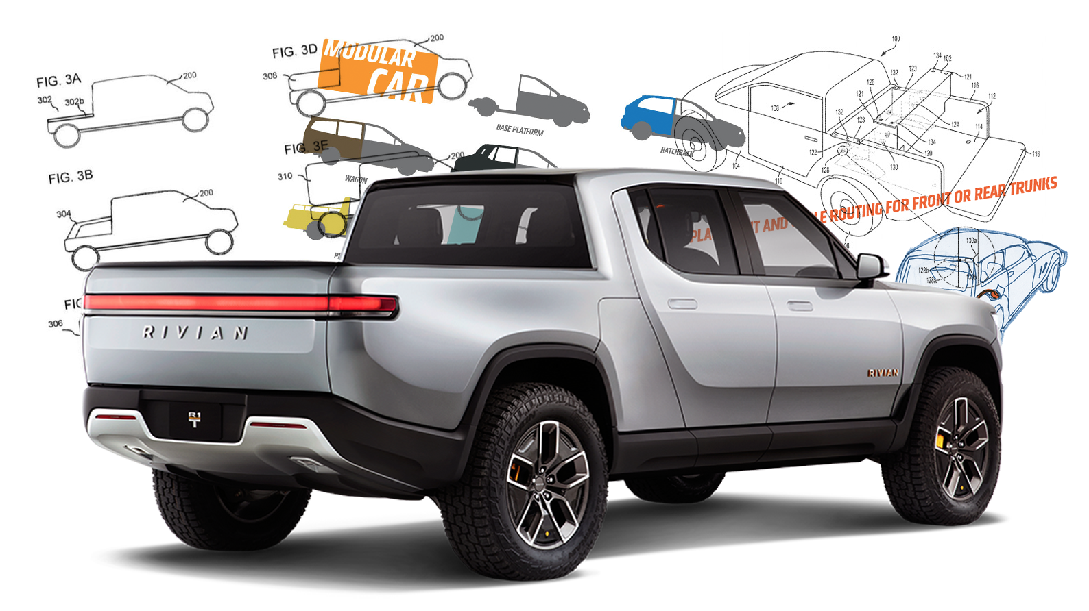Electric Truck Startup Rivian's Patents Look a Lot Like My Idea for Modular Cars